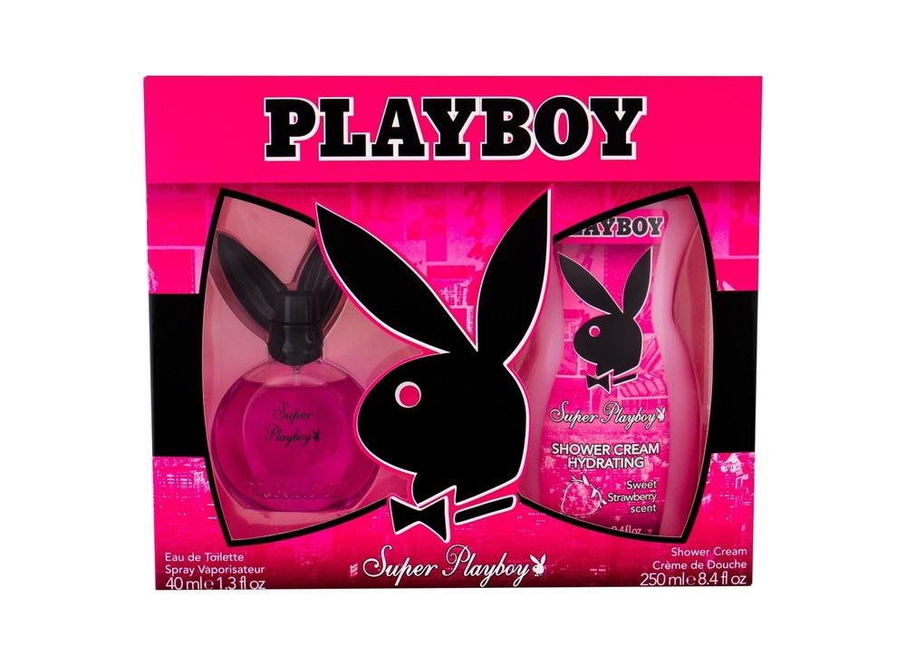Playboy Super Playboy For Her Darkova Sada Eau De Toilette 40 Ml A Sprchovy Gel  oμορφια   αρώματα   αρώματα γυναικεία