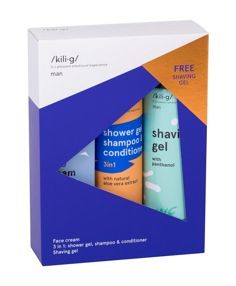 Kili·g Man Day Cream 50ml - Set (All Skin Types - For All Ages)