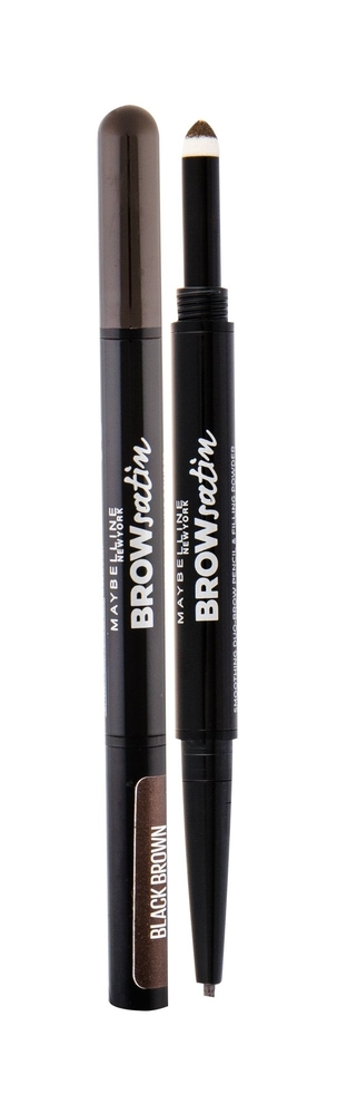 Maybelline Brow Satin Duo Pencil Black Brown