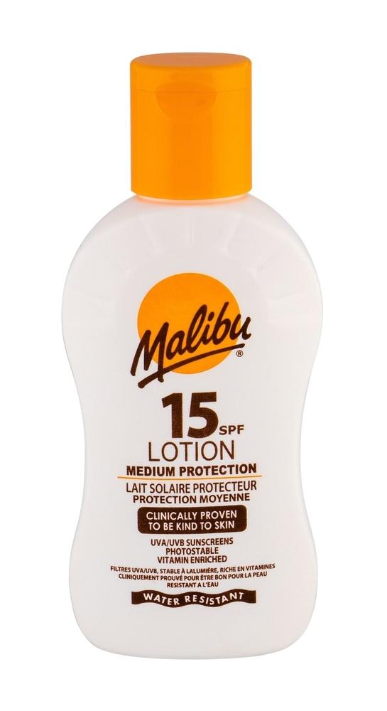 Malibu Lotion Spf15 Sun Body Lotion 100ml Waterproof