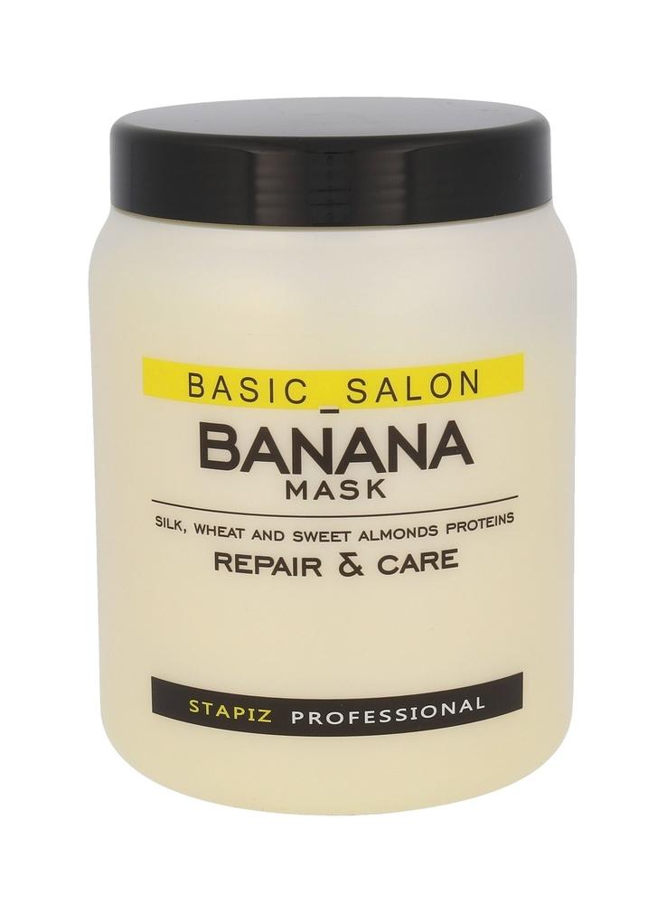 Stapiz Basic Salon Banana Mask Hair Mask 1000ml (Damaged Hair)