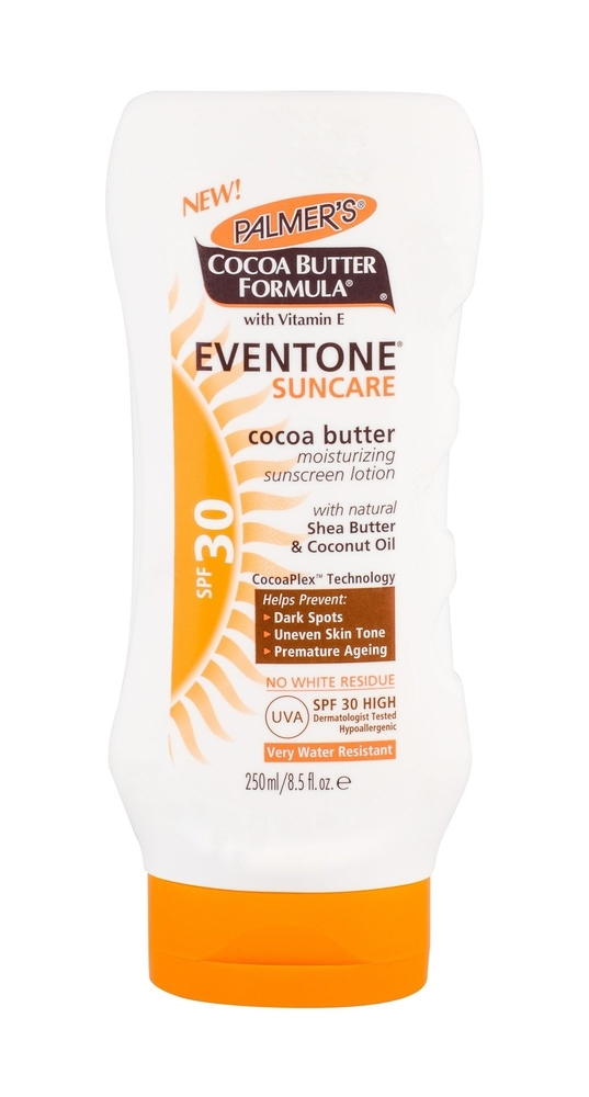 Palmer/s Eventone Suncare Cocoa Butter Sun Body Lotion 250ml Waterproof Spf30 oμορφια   αντηλιακή προστασία   αντηλιακά σώμα πρόσωπο   αντηλιακά
