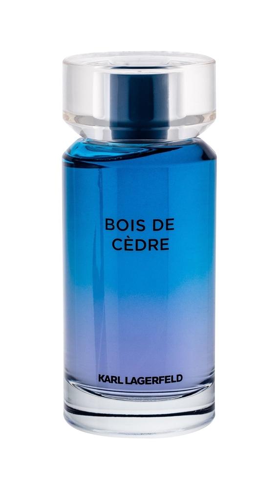Karl Lagerfeld Les Parfums Matieres Bois De Cedre Eau De Toilette 100ml
