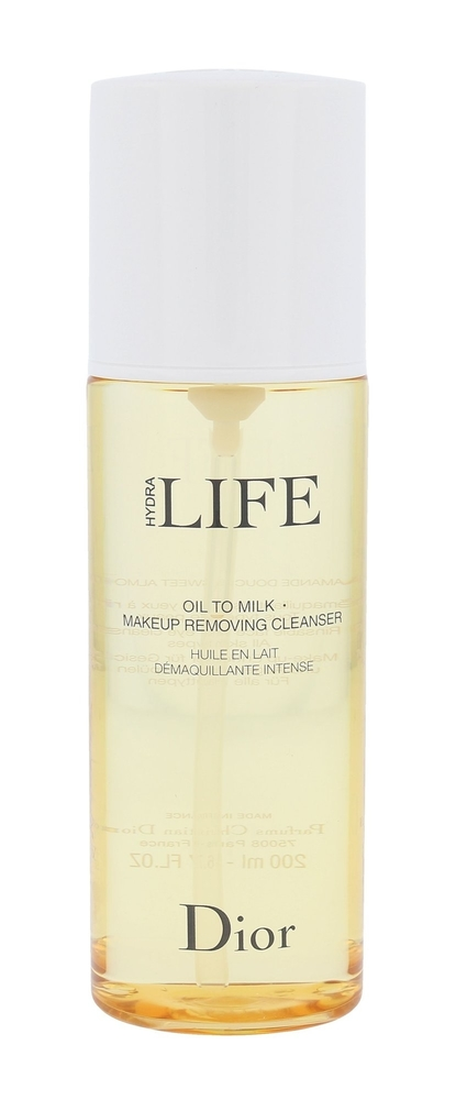 Christian Dior Hydra Life Oil To Milk Cleansing Oil 200ml (All Skin Types)