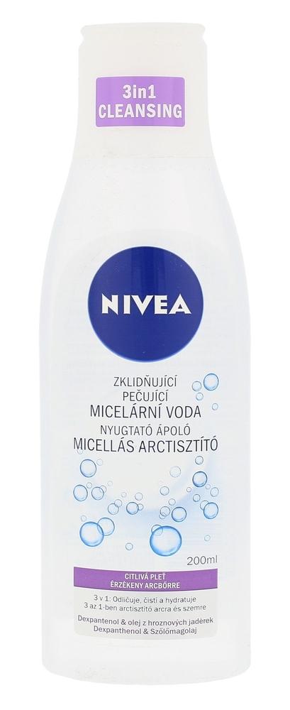 Nivea Sensitive 3in1 Micellar Cleansing Water Micellar Water 200ml (All Skin Types)