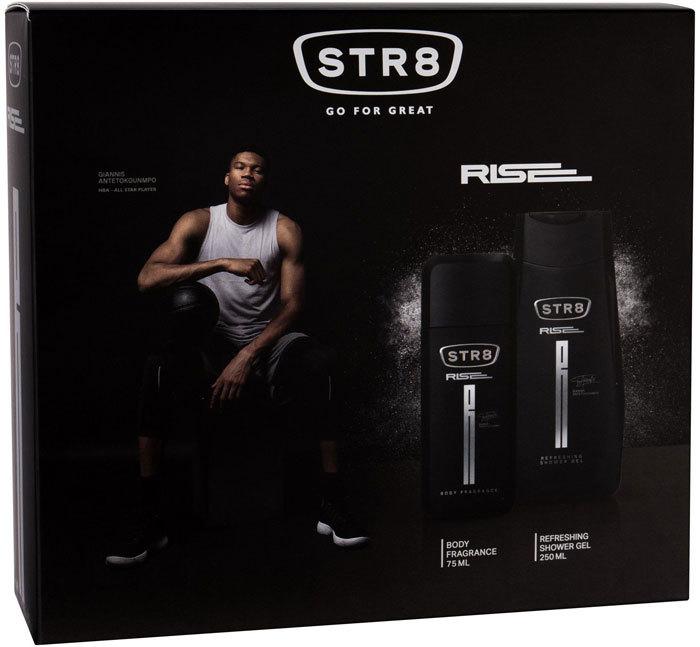 Str8 Rise Deodorant 75ml Combo: Deodorant 75 Ml + Shower Gel 250 Ml (Deo Spray)