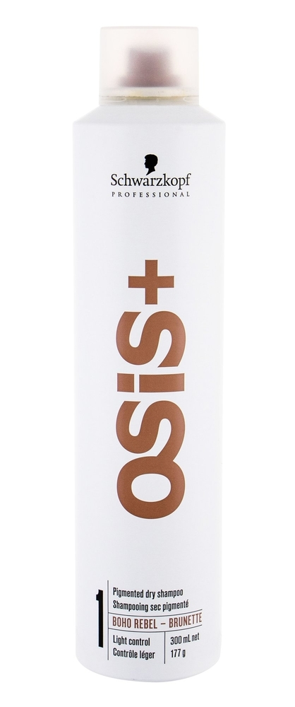 Schwarzkopf Osis+ Boho Rebel Dry Shampoo 300ml Brunette (Oily Hair - All Hair Types)