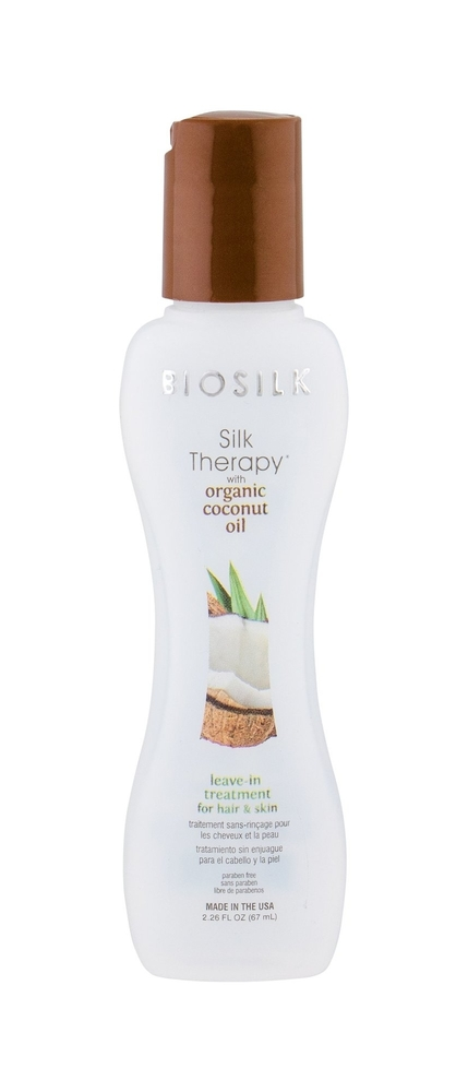 Farouk Systems Biosilk Silk Therapy Organic Coconut Oil Hair Mask 67ml (Damaged Hair - Split Ends - Dry Hair)