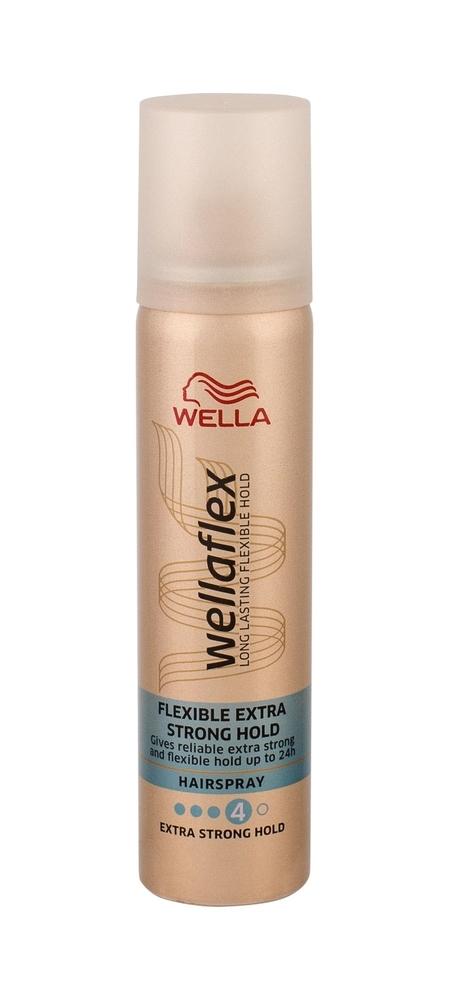 Wella Flex Flexible Extra Strong Hold Hair Spray 75ml (Extra Strong Fixation)