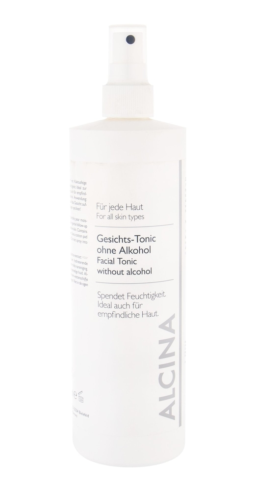 Alcina Facial Tonic Without Alcohol Facial Lotion 500ml (Dry - All Skin Types)