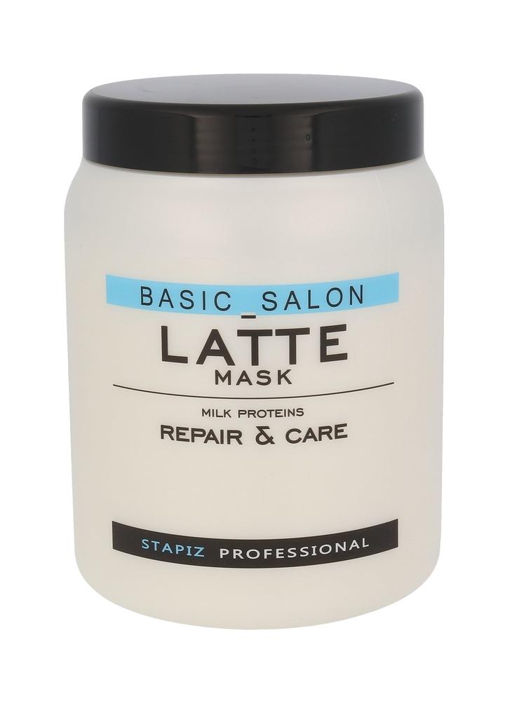 Stapiz Basic Salon Latte Hair Mask 1000ml (All Hair Types)