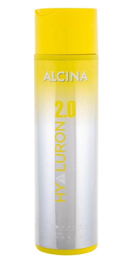 Alcina Hyaluron 2.0 Shampoo 250ml (Heat Protection - Damaged Hair - Dry Hair)