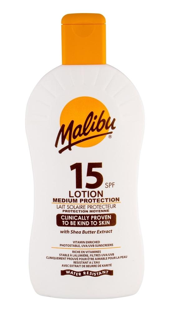 Malibu Lotion Spf15 Sun Body Lotion 400ml Waterproof