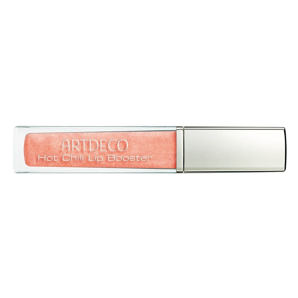 Artdeco Hot Chili Lip Booster Lip Gloss 6ml With Glitter Transparent