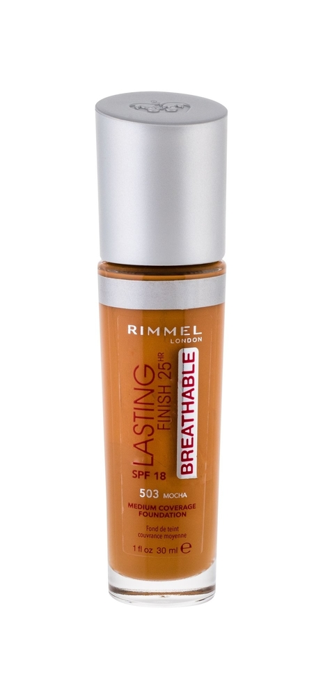Rimmel London Lasting Finish Breathable Makeup 30ml 25hr Spf20 503 Mocha