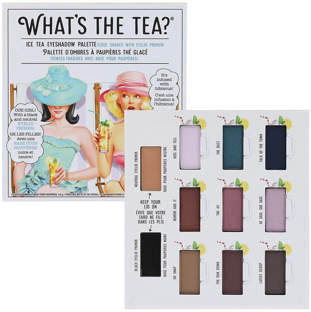 Thebalm What´s the Tea? Ice Tea Eyeshadow Palette Eye Shadow 12,6gr