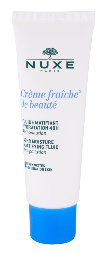 Nuxe Creme Fraiche De Beaute 48hr Moisture Mattifying Fluid Day Cream 50ml (Mixed - For All Ages)