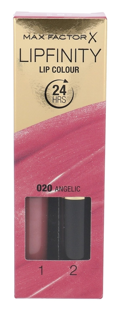 Max Factor Lipfinity Lip Colour Lipstick 4,2gr 020 Angelic (Glossy)