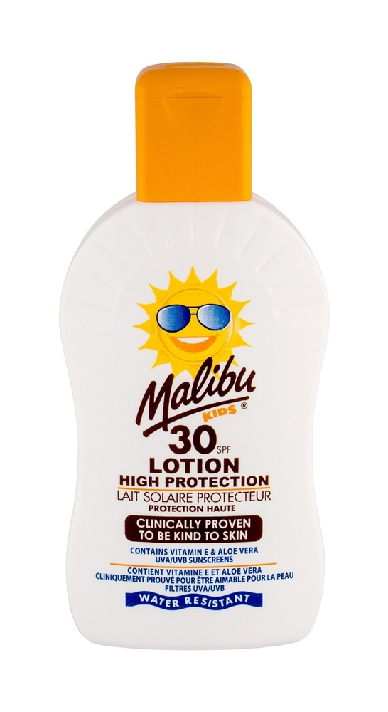 Malibu Kids Lotion Sun Body Lotion 200ml Waterproof Spf30
