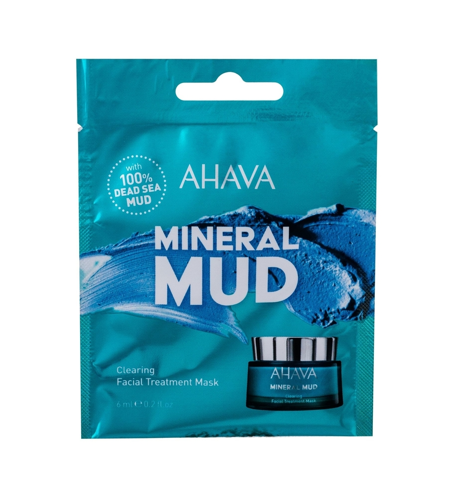Ahava Mineral Mud Clearing Face Mask 6ml (Oily - For All Ages)