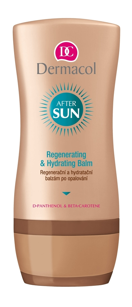 Dermacol After Sun Regenerating & Hydrating Balm After Sun Care 200ml oμορφια   αντηλιακή προστασία   μαύρισμα   after sun