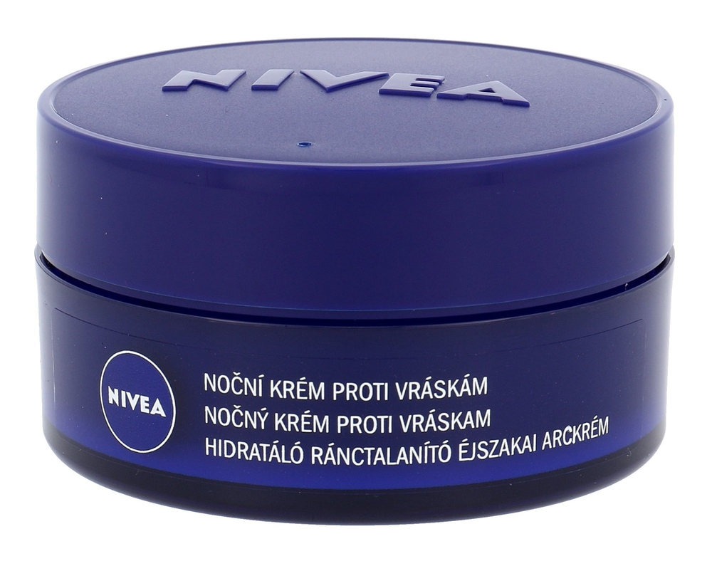 Nivea Anti Wrinkle Night Skin Cream 50ml (All Skin Types - For All Ages)