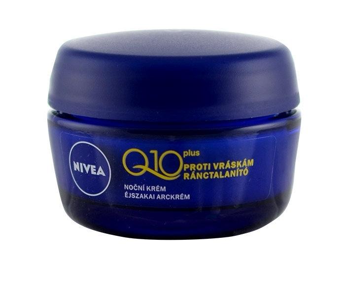 Nivea Q10 Plus Night Skin Cream 50ml (Wrinkles - All Skin Types)
