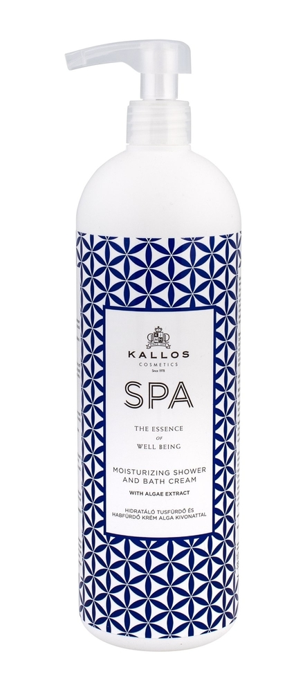 Kallos Cosmetics Spa Moisturizing Shower Cream 1000ml