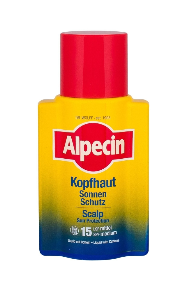 Alpecin Scalp Sun Protection Hair Oils And Serum 100ml Spf15 (Sun Damaged Hair - Anti Hair Loss)