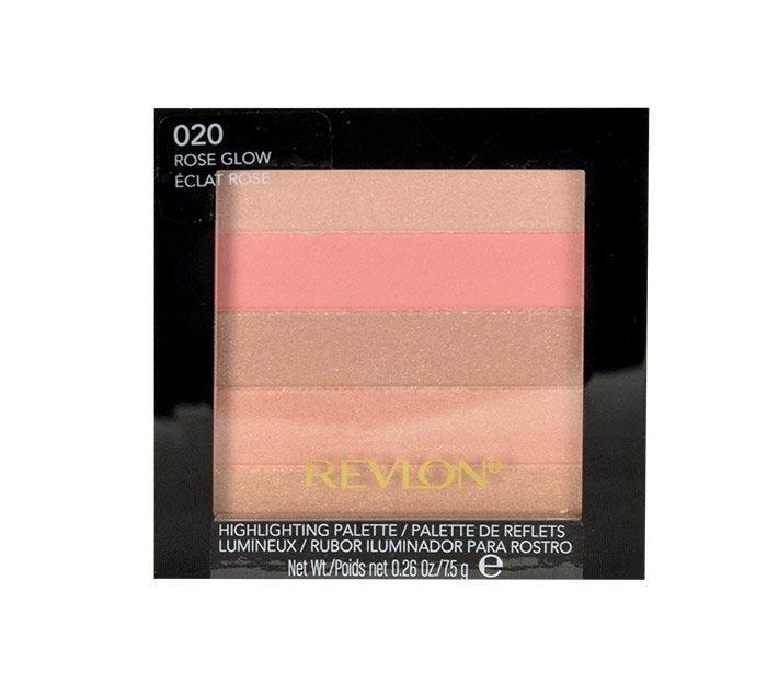 Revlon Highlighting Palette Brightener 7,5gr 020 Rose Glow