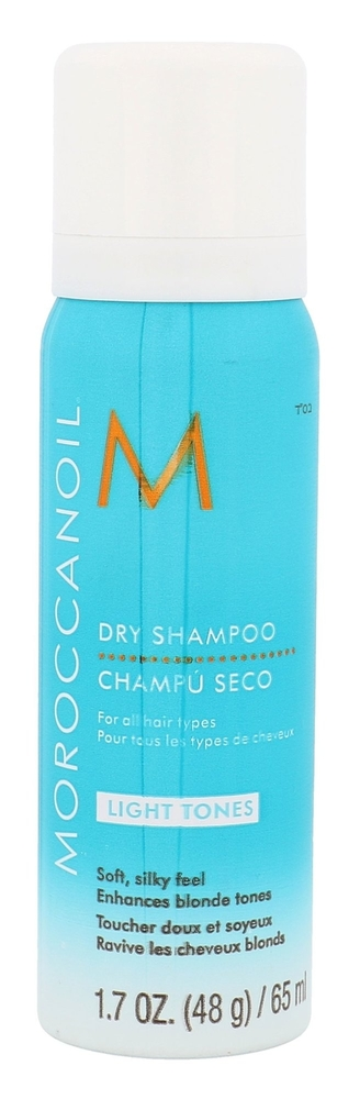 Moroccanoil Style Light Tones Dry Shampoo 65ml (All Hair Types)