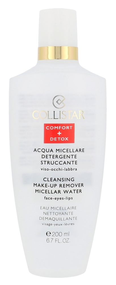 Collistar Micellar Water Cleansing Make-up Remover Face-eyes-lips Micellar Water 200ml (All Skin Types)