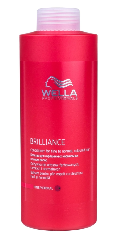 Wella Brilliance Normal Hair Conditioner 1000ml (Colored Hair - Normal Hair)