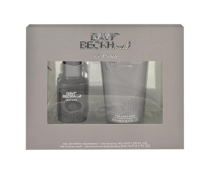 David Beckham Beyond Eau De Toilette 40ml Combo: Edt 40ml + 200ml Shower Gel