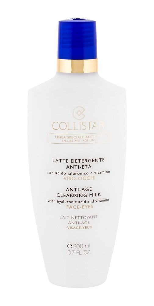 Collistar Special Anti-age Cleansing Milk 200ml (All Skin Types)
