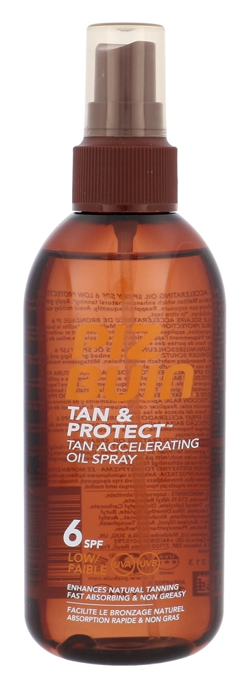Piz Buin Tan & Protect Tan Accelerating Oil Spray Sun Body Lotion 150ml Spf6 oμορφια   αντηλιακή προστασία   αντηλιακά σώμα πρόσωπο   αντηλιακά