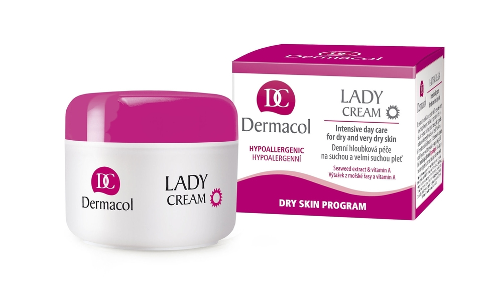 Dermacol Lady Cream Day Cream 50ml (Dry - Very Dry - For All Ages)