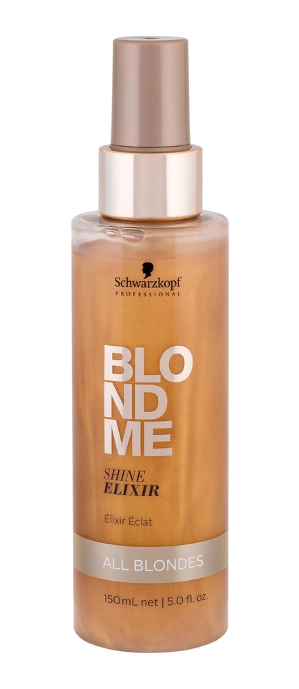 Schwarzkopf Blond Me Shine Elixir Hair Oils And Serum 150ml (Blonde Hair)