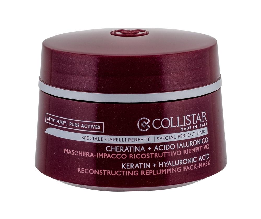 Collistar Pure Actives Reconstructing Replumping Hair Mask 200ml (Weak Hair - Damaged Hair)
