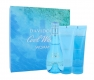 Davidoff Cool Water Eau De Toilette 100ml Woman Combo: Edt 100ml + 75ml Body Lotion + 75ml Shower Gel