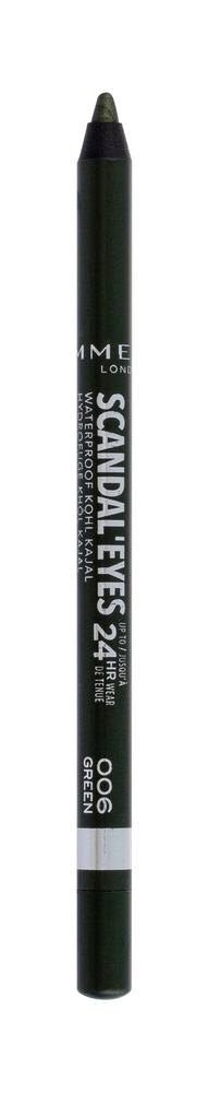Rimmel London Scandal Eyes Kajal Eye Pencil 1,3gr Waterproof 24hr 006 Green