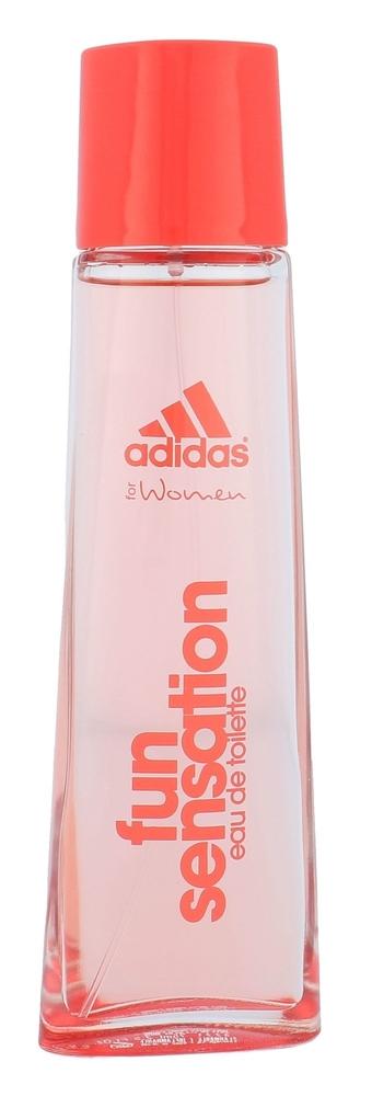 Adidas Fun Sensation For Women Eau De Toilette 75ml