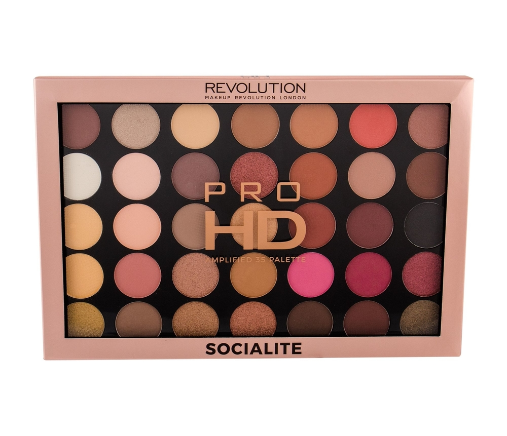 Makeup Revolution Pro HD Palette Amplified 35 Socialite