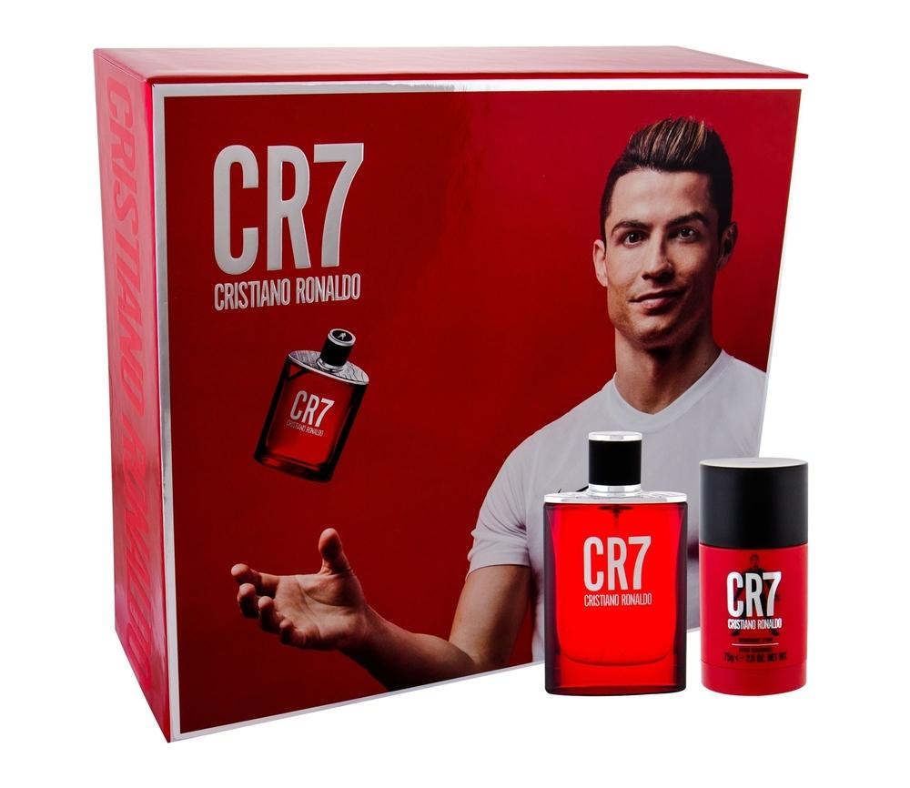 Cristiano Ronaldo Cr7 Eau De Toilette 50ml - Set Combo Edt 50 Ml + Deostick 75 G