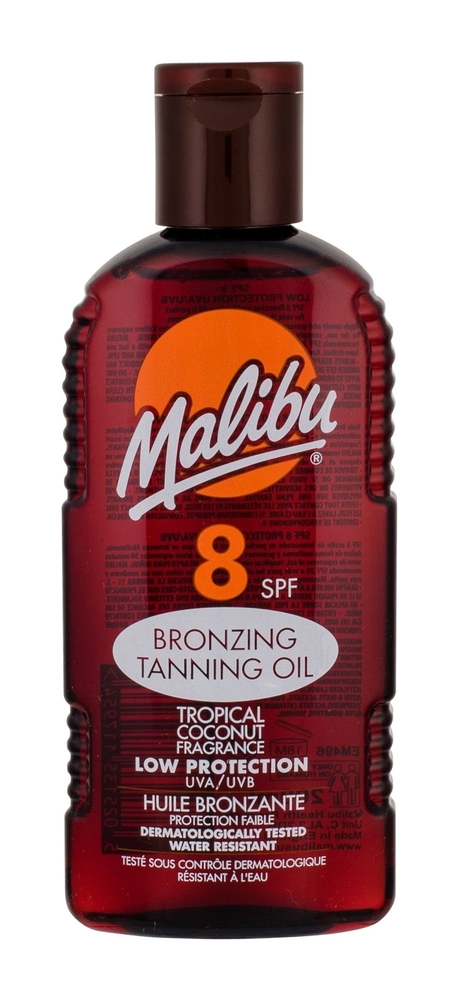 Malibu Bronzing Tanning Oil Sun Body Lotion 200ml Spf8 oμορφια   αντηλιακή προστασία   αντηλιακά σώμα πρόσωπο   αντηλιακά