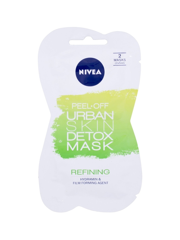 Nivea Urban Skin Detox Peel-off Mask Face Mask 10ml (All Skin Types - For All Ages)