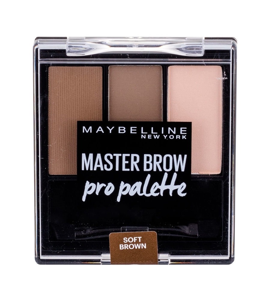Maybelline Master Brow Pro Palette For Eyebrows 6gr Soft Brown