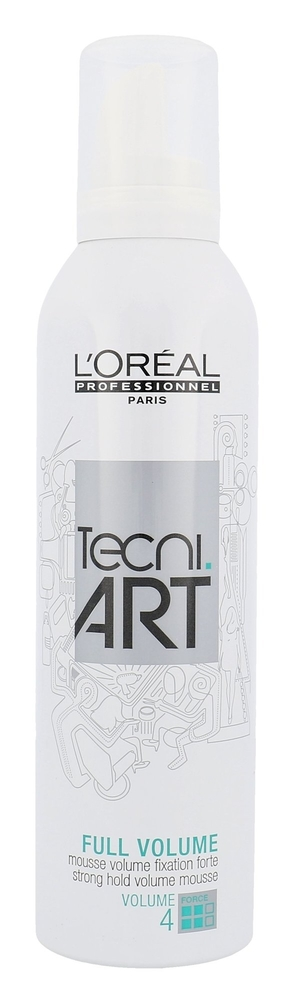 L/oreal Professionnel Tecni.art Full Volume Hair Mousse 250ml (Strong Fixation) oμορφια   μαλλιά   styling μαλλιών   αφροί μαλλιών