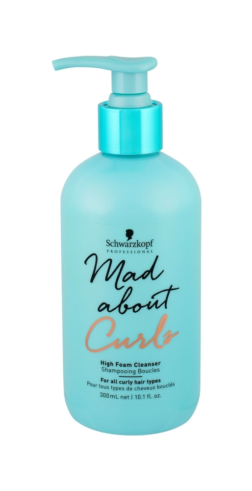 Schwarzkopf Mad About Curls High Foam Cleanser Shampoo 300ml (Curly Hair)