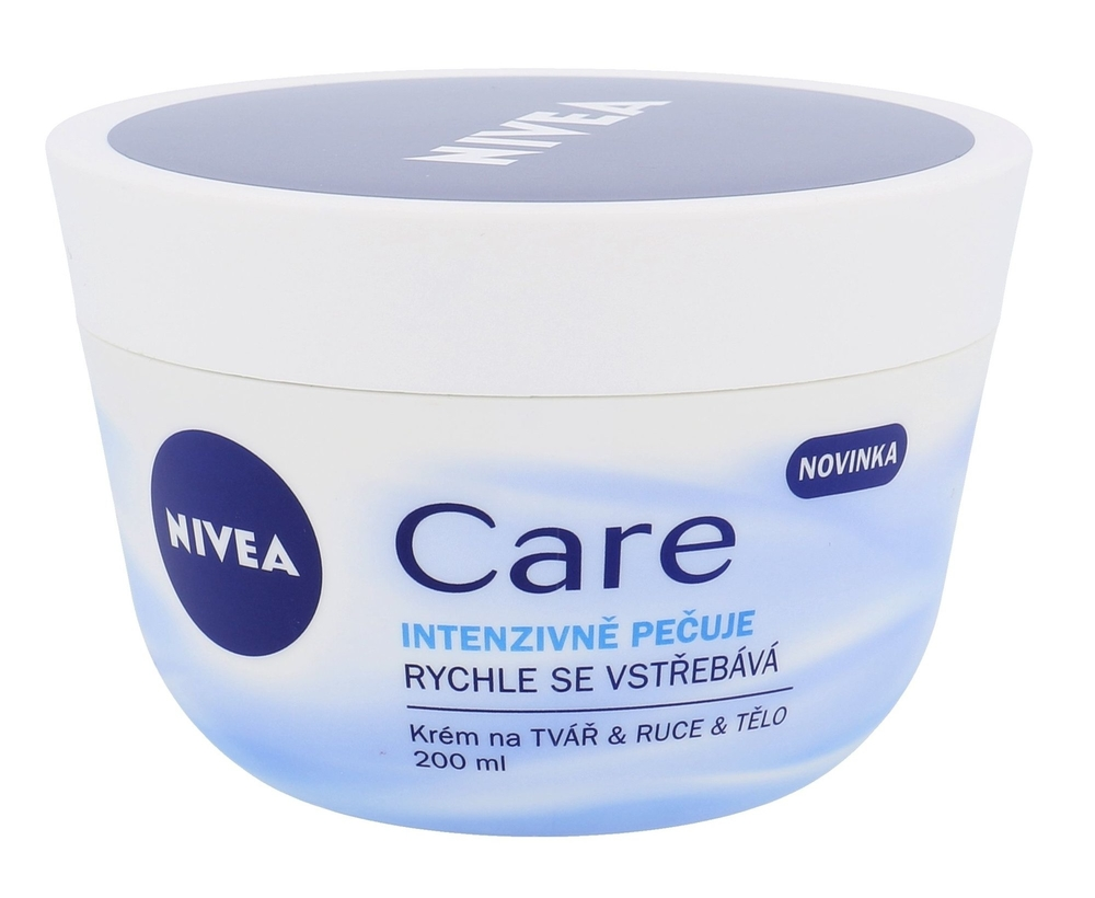 Nivea Care Day Cream 200ml (All Skin Types - For All Ages)